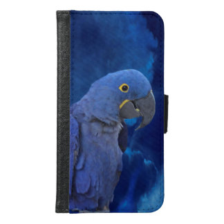 Hyacinth Macaw Samsung Galaxy S6 Wallet Case