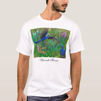 Hyacinth Macaws in Jungle T-Shirt