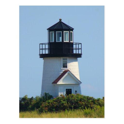 Hyannis Harbor Lighthouse Cape Cod Post Card