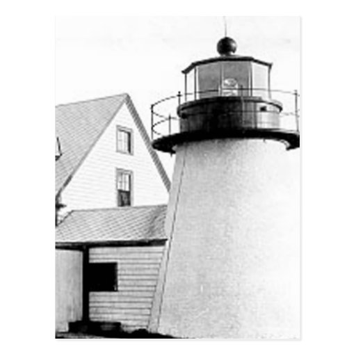 Hyannis lighthouse post card