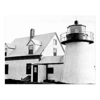 Hyannis lighthouse postcard
