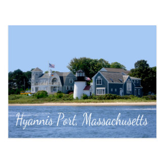 Hyannis Port  Massachusetts, Cape Cod  Postcard