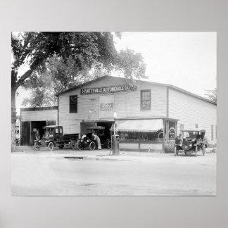 Hyattsville Auto Company, 1920 Poster