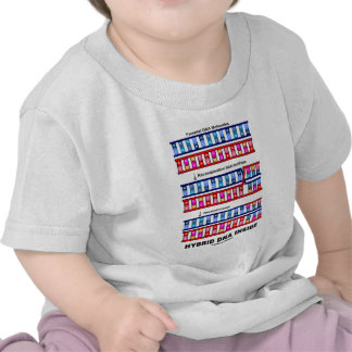Hybrid DNA Inside (Recombinant DNA) Tee Shirts