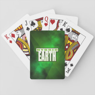Hybrid Earth Playing Cards