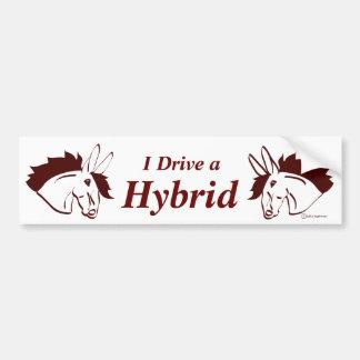 Hybrid Mules Bumper Sticker