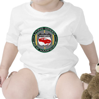 Hybrid New Hampshire Baby Bodysuits