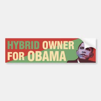 Hybrid Owner for Obama - Political Bumper Sticker