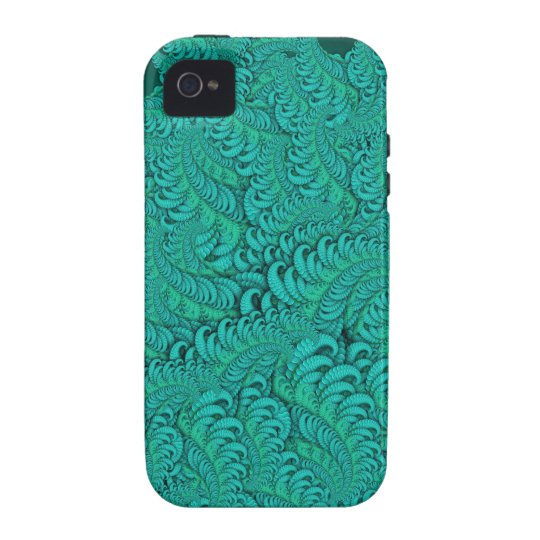 Hybrid Skin Green Abstract Fractal Pattern Case