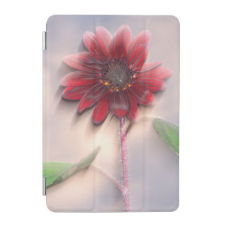 Hybrid sunflower blowing in the wind iPad mini cover