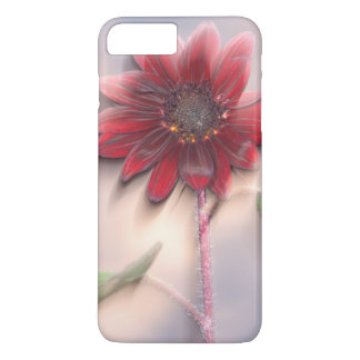 Hybrid sunflower blowing in the wind iPhone 8 plus/7 plus case