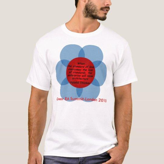Hybrid Thinker: The Standard of Love T-Shirt