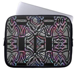 Hybrid tribal art laptop cases