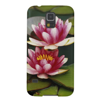Hybrid water lilies galaxy s5 cases