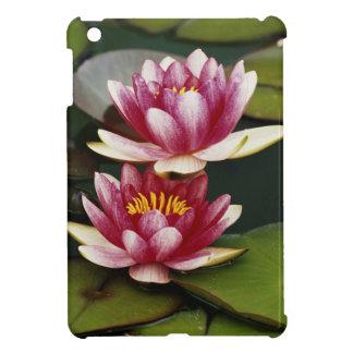 Hybrid water lilies iPad mini case
