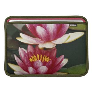 Hybrid water lilies sleeve for MacBook air