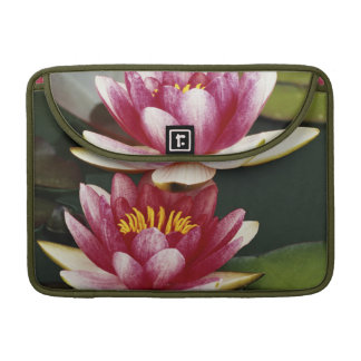 Hybrid water lilies sleeve for MacBook pro
