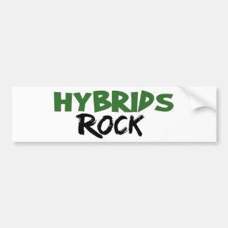 Hybrids Rock Bumper Sticker
