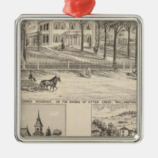 Hyde Hotel in Wallingford Christmas Ornament