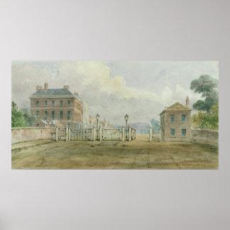 Hyde Park Corner Turnpike, 1785 Poster
