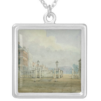 Hyde Park Corner Turnpike, 1785 Silver Plated Necklace