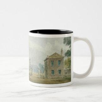 Hyde Park Corner Turnpike, 1785 Two-Tone Coffee Mug