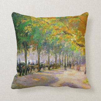 Hyde Park, London artwork Cushion