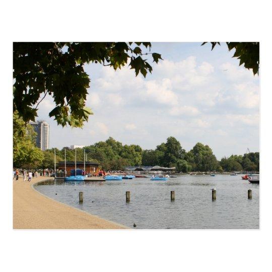 Hyde Park, London Postcard