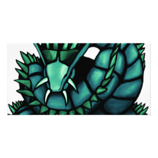 Hydra Dragon Photo Card Template