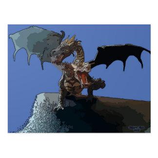 Hydra Dragon Postcard