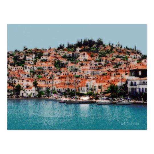 Hydra Island Postcard