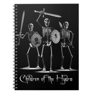 Hydra Skeletons Note Books