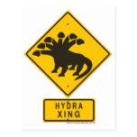 Hydra XING Postcard