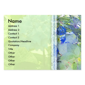 Hydrangea 1 Profile Card Large Business Cards (Pack Of 100)