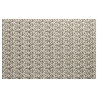 Hydrangea Abstract Fabric