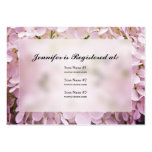 Hydrangea Baby Shower Registry Cards Business Cards