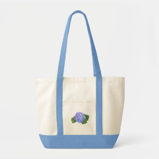hydrangea canvas bags