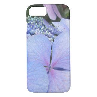 Hydrangea Blue Purple Pretty Flower iPhone 7 Case