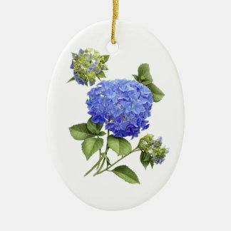 "Hydrangea ""Blue Wave"" Ornament"