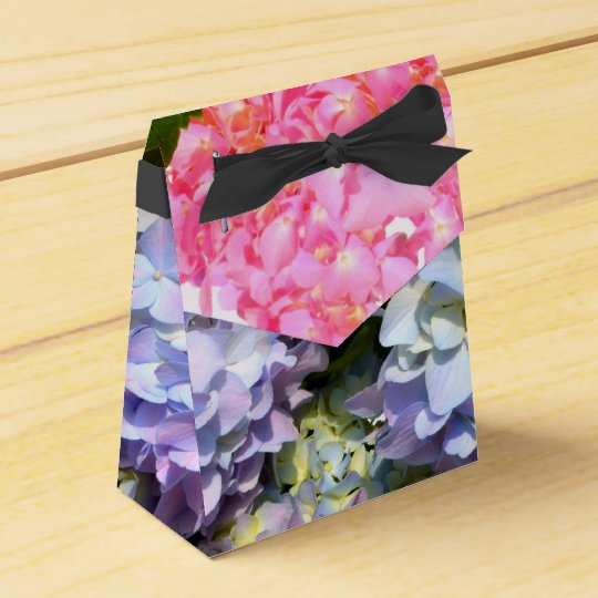 Hydrangea Bouquet Favour Box