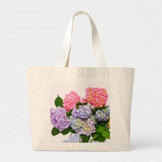 Hydrangea Bouquet Large Tote Bag