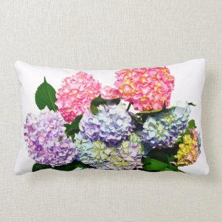 Hydrangea Bouquet Lumbar Cushion