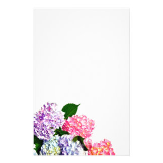 Hydrangea Bouquet Stationery Paper