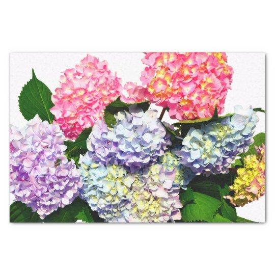 Hydrangea Bouquet Tissue Paper