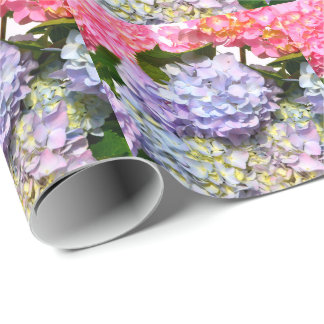 Hydrangea Bouquet Wrapping Paper