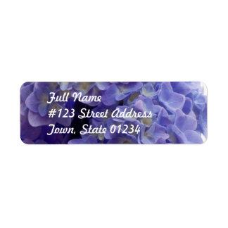 Hydrangea Bush Mailing Label