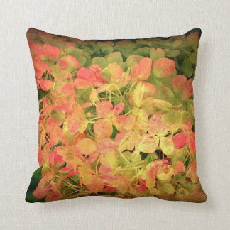 """Hydrangea Dream"" Throw Pillow"