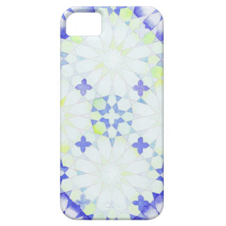 'Hydrangea (dynamic)' Islamic geometry phone cover