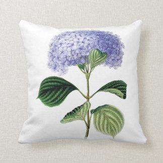 Hydrangea floral cushion