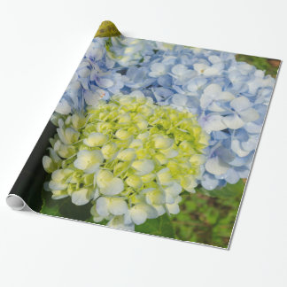 Hydrangea flower Gift wrap Wrapping Paper